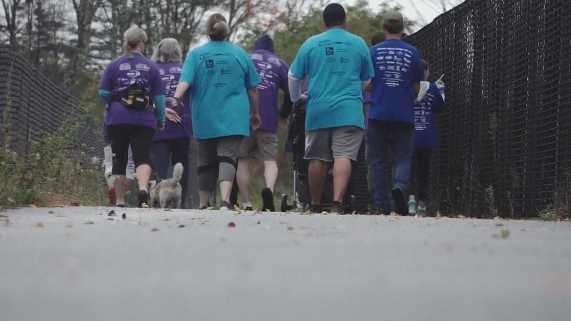 Walking to help fight Huntington's Disease