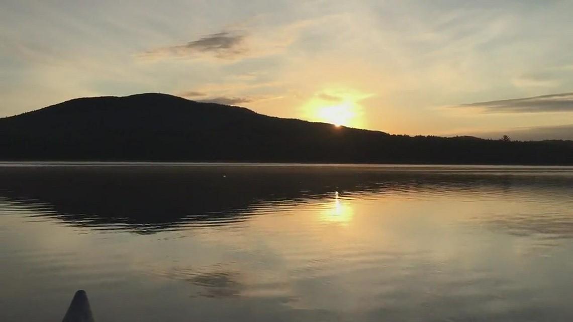 Upper Lead Mountain Pond sunrise