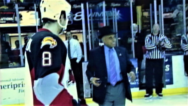 Ovation for Willie O'Ree is for not just dropping the puck, but raising up all of hockey