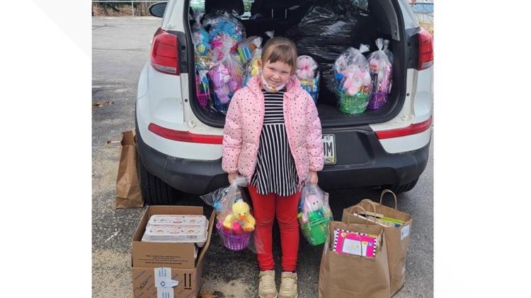 5-year-old brings Easter joy to homeless kids