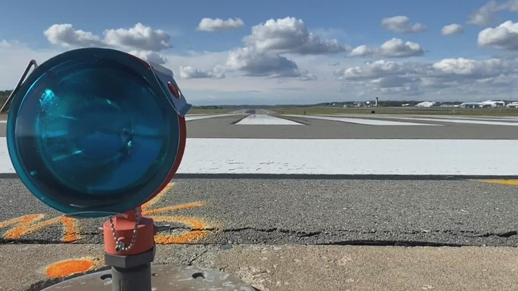One of Maine's largest airports is closed for runway repairs
