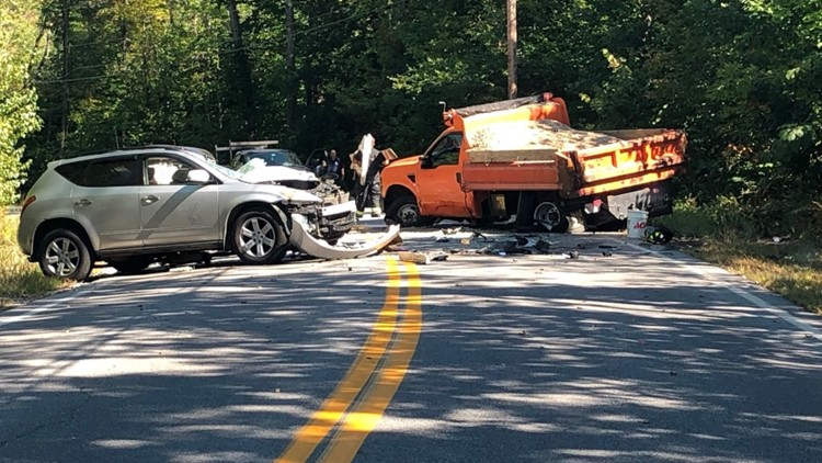 Sanford woman flown to Maine Medical Center after two-vehicle crash