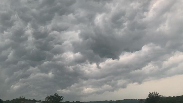 Storm over Great Salt Bay in Damariscotta