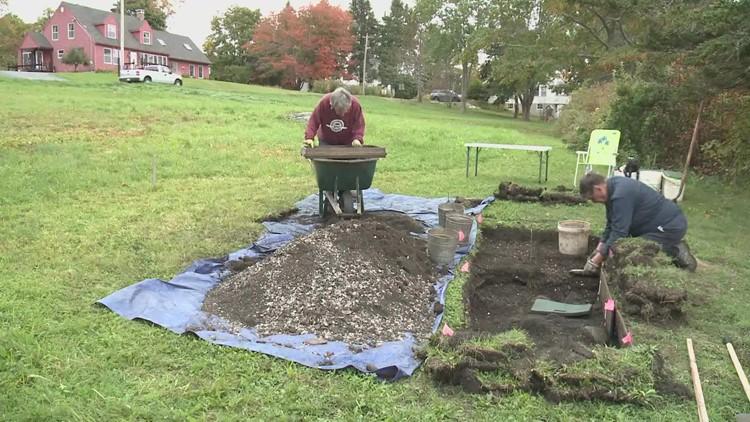 Digging up pre-history along Maine's coastline