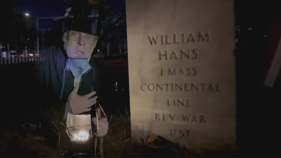 'Walk Among The Shadows' at Portland's Eastern Cemetery