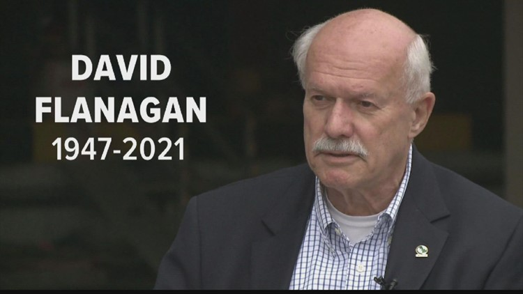 Remembering, David Flanagan, longtime Central Maine Power executive