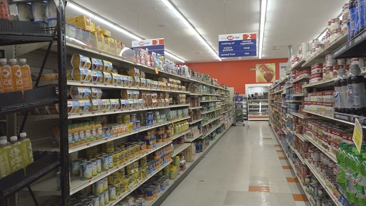 A possible end to rising grocery store prices nationwide