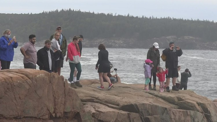 Political leaders participate in climate change tour at Acadia National Park