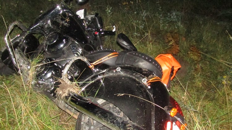Motorcyclist seriously injured after colliding with moose in Cyr Plantation