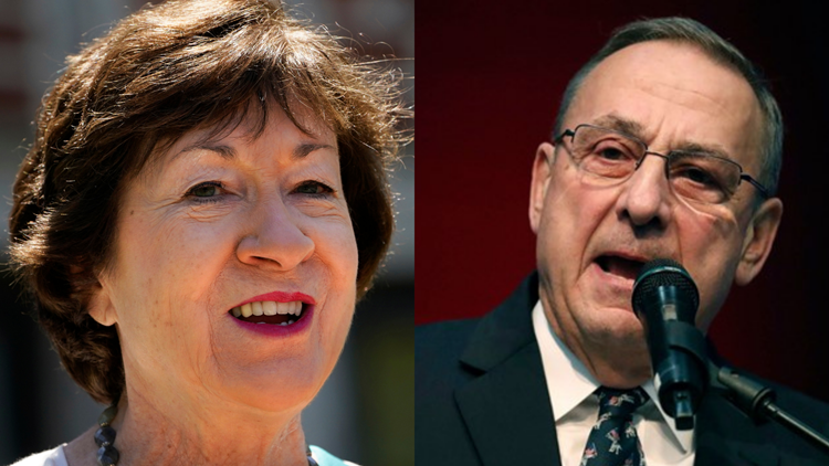 Sen. Susan Collins endorses Paul LePage's 2022 campaign for governor