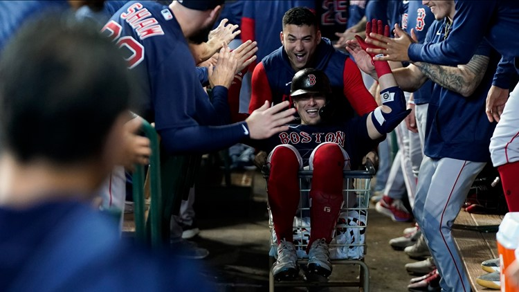 Historic postseason at the plate   Red Sox stats to help you get ready for ALCS Game 4