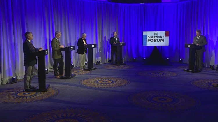 Full, unedited closing arguments from Voice of the Voter Question 1 Forum