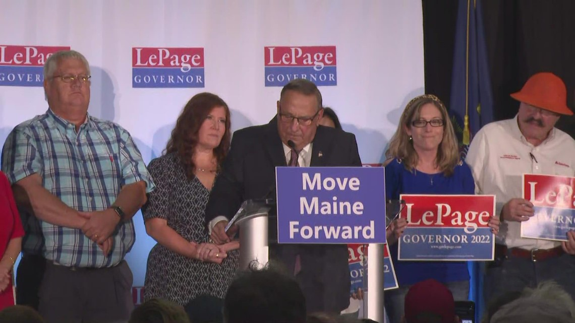 LePage launches 2022 campaign for Maine governor with Augusta rally
