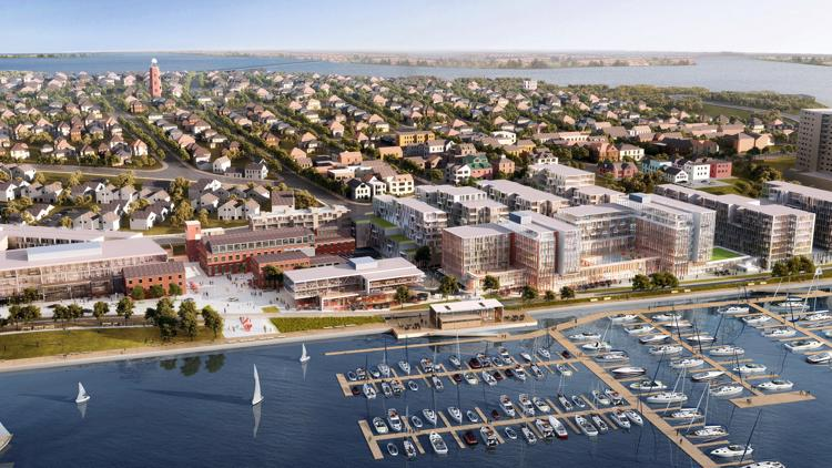 Largest development project Portland has seen in decades underway in the OId Port