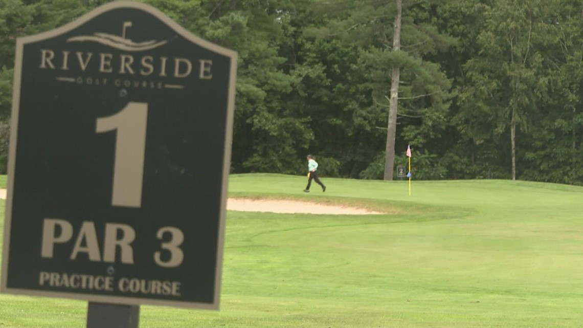 A 'closest to the pin' contest awards a free car, for a good cause.