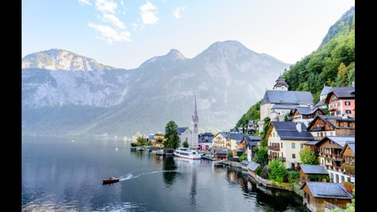 Lake Hallstatt, Austria. (Photo by Praveen-P.N / Getty Images)