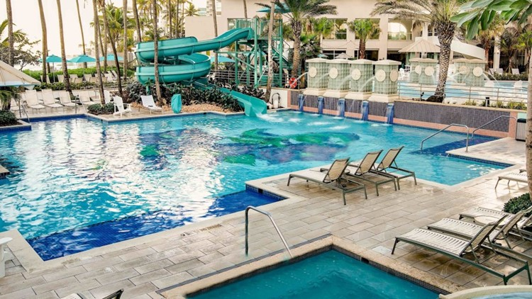 Image courtesy of the San Juan Marriott Resort & Stellaris Casino