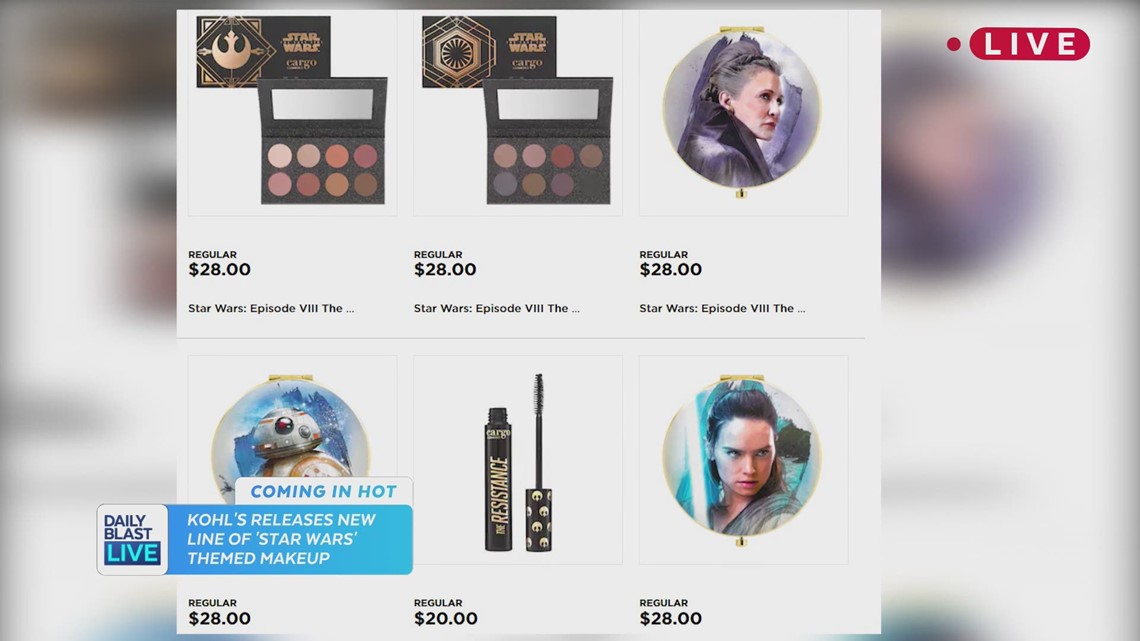 Star Wars Makeup Is Here For The Holidays Newscentermaine Com