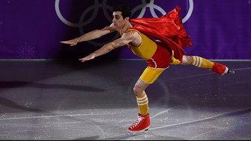 prezzo economico codici promozionali sfumature di PHOTOS: Figure skaters show off craziest moves during Olympics ...