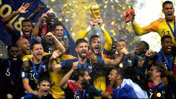 France defeats Croatia to win 2018 World Cup