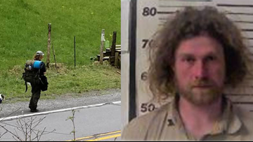 Appalachian Trail hiker known as 'Sovereign' allegedly attacked hikers with a shovel