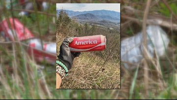 People are using the viral #Trashtag Challenge to pick up litter