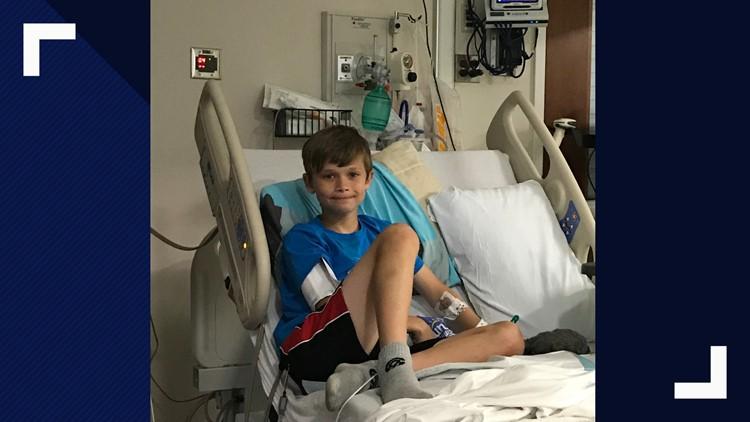 Sammy after surgery
