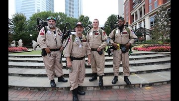 Those most in need of positivity are calling upon these Ghostbusters