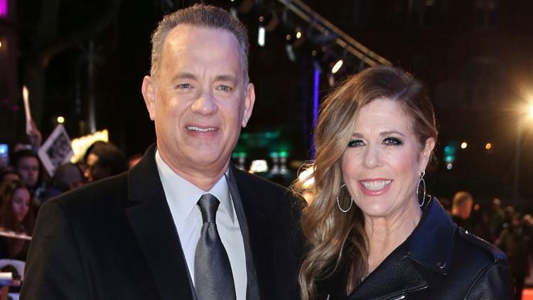 Tom Hanks Rita Wilson January 2018 AP