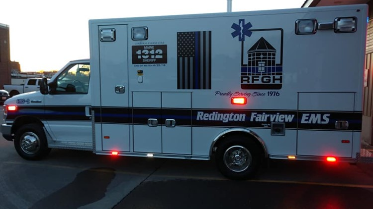 Cpl. Cole ambulance