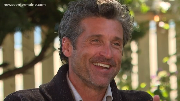 Patrick Dempsey talks love of Maine and passion for helping cancer patients