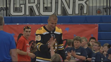 Gronk makes a trip to Maine