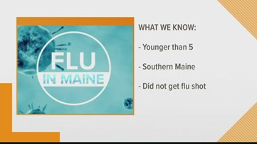 Maine records first flu-related child death