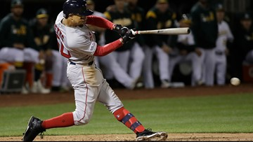 Lucky bounce plops Red Sox back into win column after four-game absence