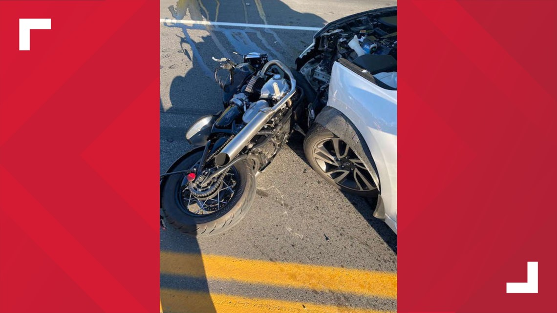 Maine motorcyclist flown to hospital after collision with car