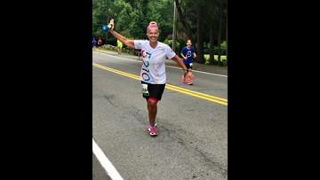 Lewiston teacher wins TCS New York City Marathon contest