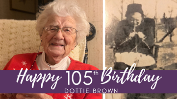 Maine woman who has been knitting for more than 100 years turns 105!