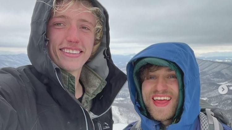 This college student from Maine has already hiked 2,500 miles this year. He's got 5,500 to go.