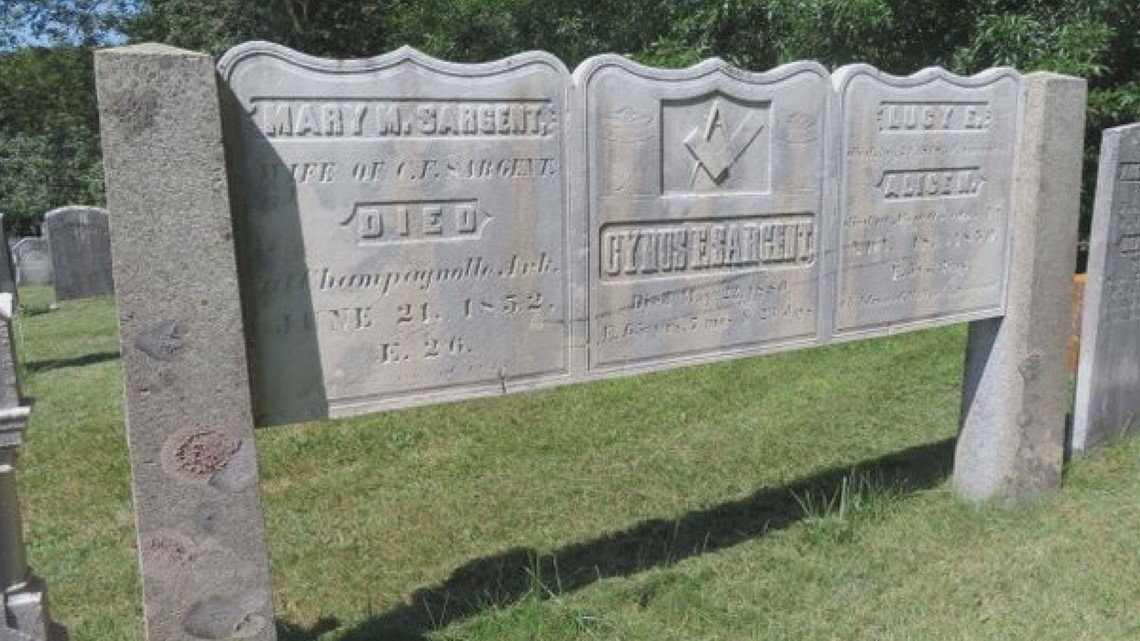 Historic gravestones tell the stories of pandemics past