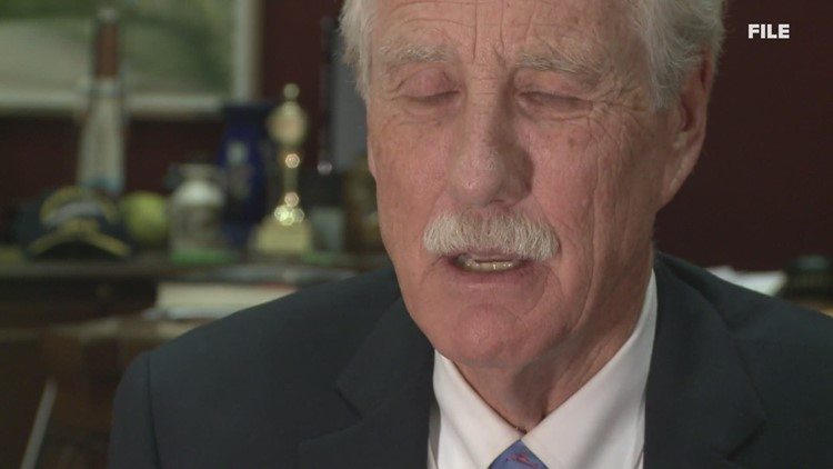 Senator Angus King pushing for election assistance funding