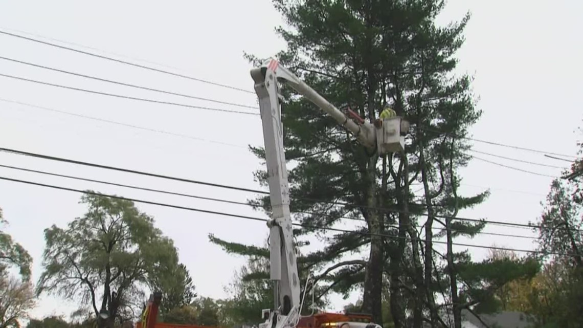 Central Maine Power provides customers with restoration.