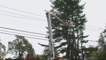 Customers without power lowers to 21,000, CMP says