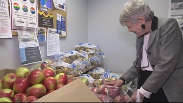 Feed Maine: Taking what she needs, giving all she can