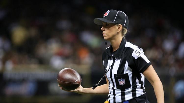 Referee Sarah Thomas