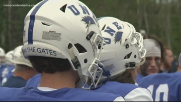 UNE debuts new football team and stadium