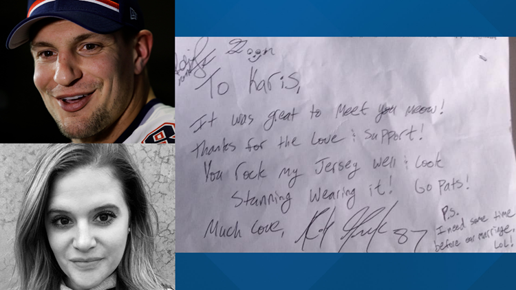 Gronk's New England super fan laments his retirement and not marrying the NFL star