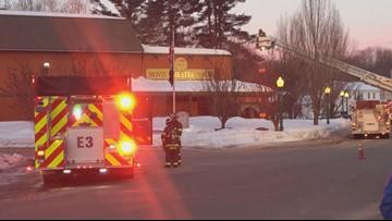 Firefighters battle early morning fire in Bridgton