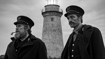 A first look at 'The Lighthouse,' starring Pattinson, Dafoe