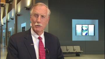 Sen. King undergoes follow-up cancer treatment