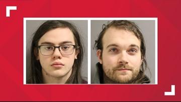 Two men charged in string of Brunswick burglaries